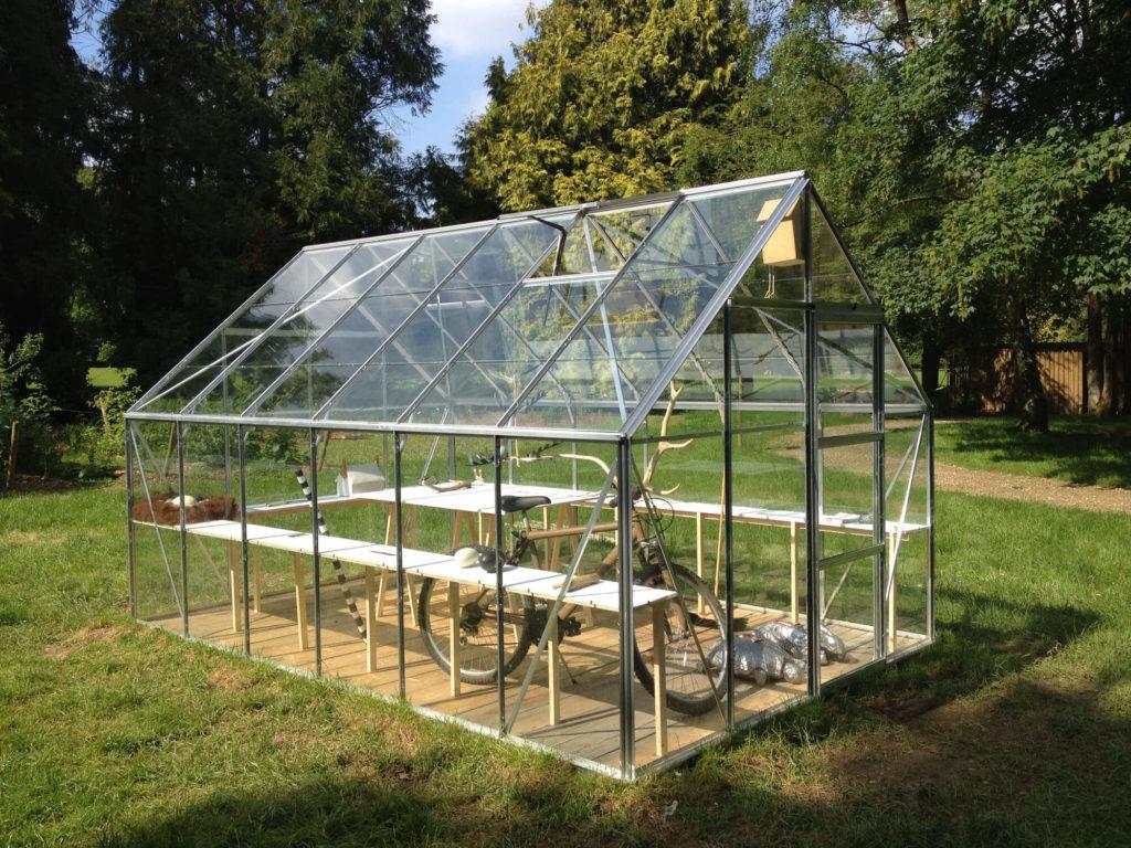 Le pavillon de verre d'Olivier Leroi