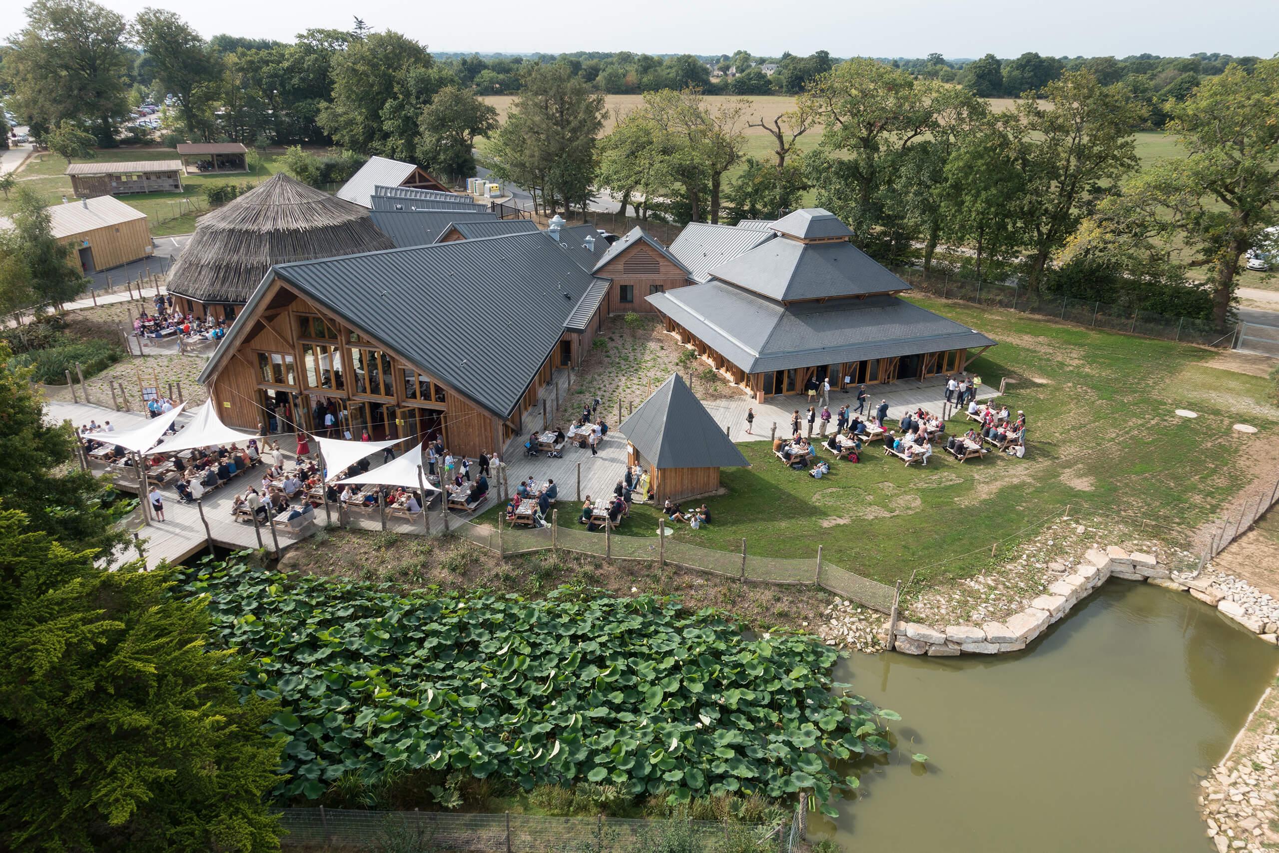 Restaurant parc animalier et botanique de Branféré