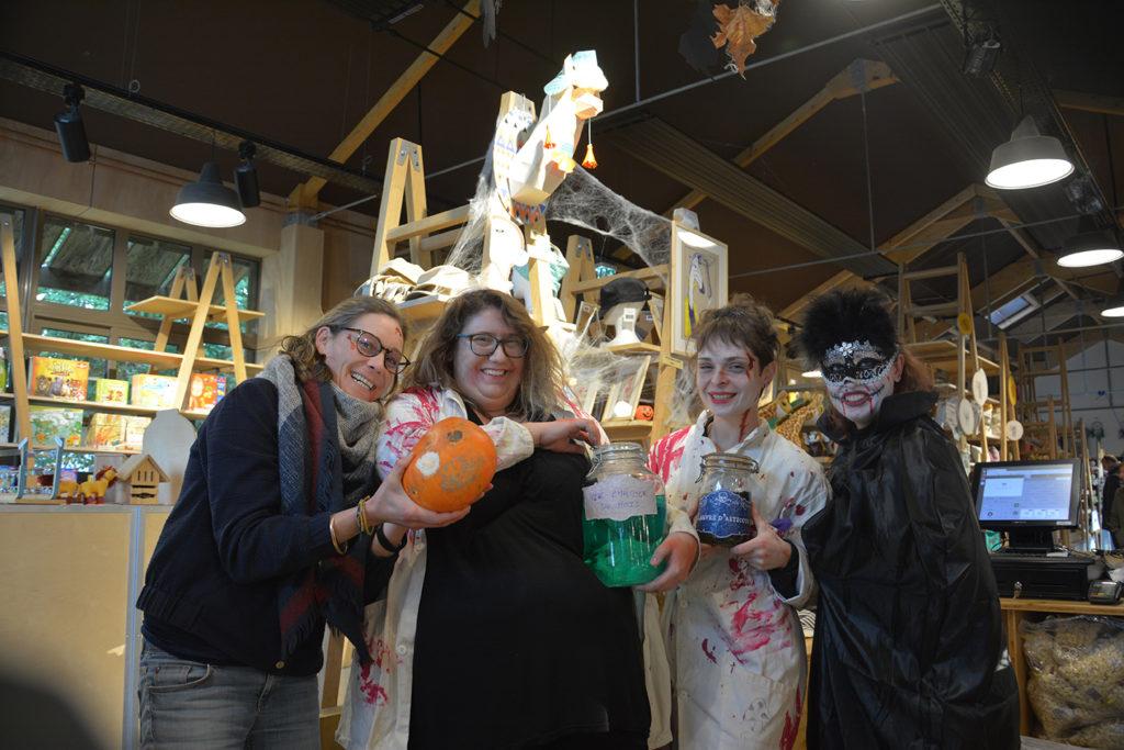 Halloween à Branféré