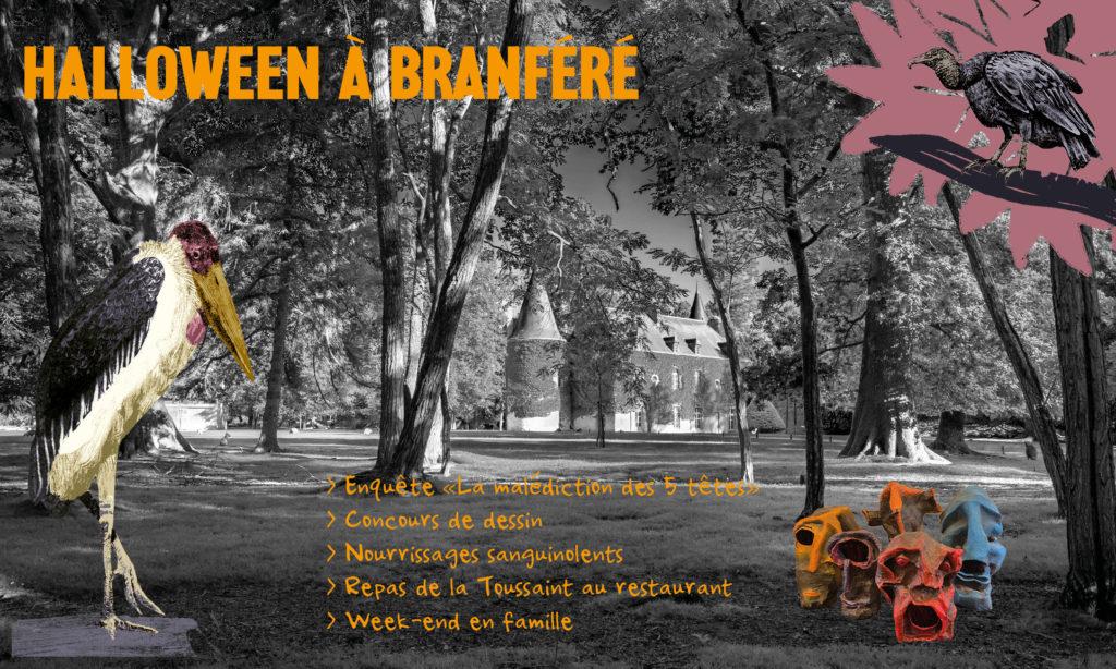 Fêtez Halloween à Branféré